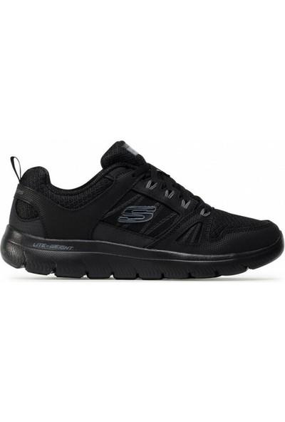 Skechers 232069-BBK Erkek Spor Ayakkabı
