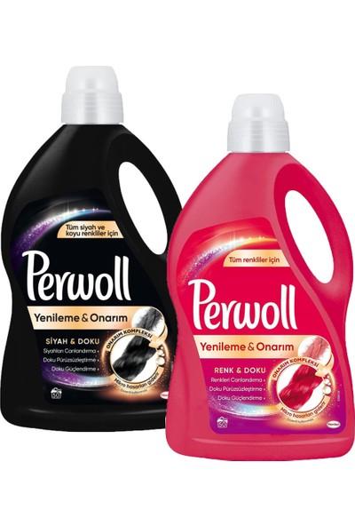 Perwoll Perwol Geliştirilmiş Renkli+Siyah 50WL 6l