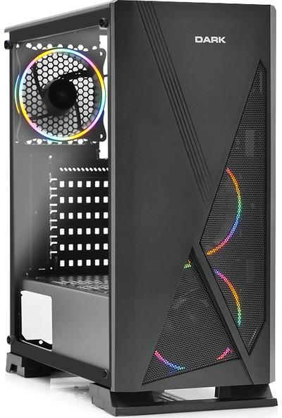 Teknobiyotik HB9401 Intel Core i5 9400F 8GB 240GB SSD RX5500 XT Freedos Masaüstü bilgisayar (DK-PC-HB9401)