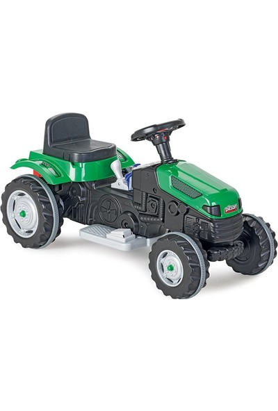Pilsan Active Tractor 6V Akülü Traktör / Yeşil