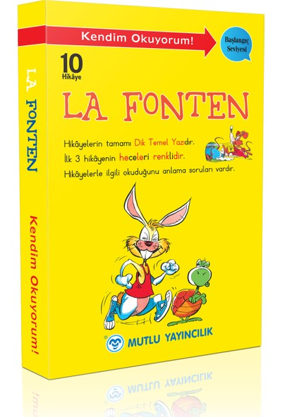 Mutlu Yayıncılık La Fonten Hikayeleri 10 Kitap