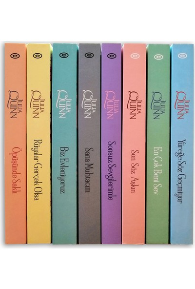 Bridgerton Serisi Seti - 8 Kitap Takım - Julia Quinn