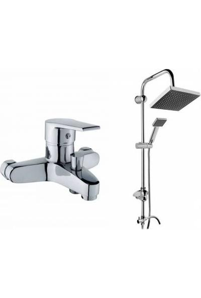 Sardıcı Duş Robotu Banyo Bataryası 2'i Set