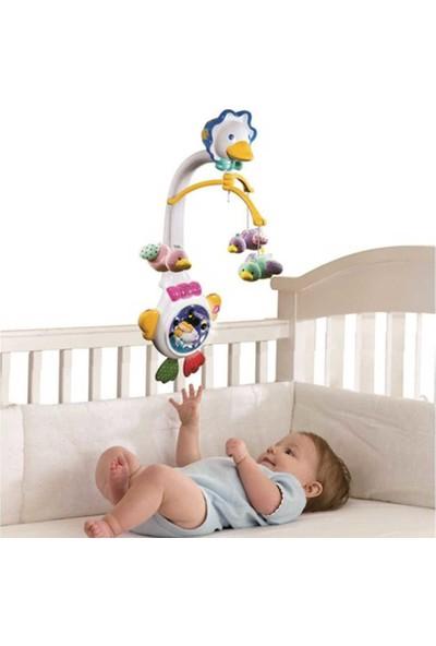VTech Baby Bebeğimin Dönencesi Projektörlü Sevimli Uyku Arkadaşı Dönen