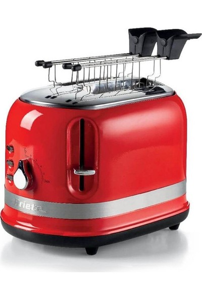 Ariete Moderna Ekmek Kızartma Makinesi - Kırmızı