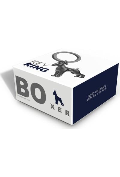Metalmorphose Boxer Köpek Anahtarlık
