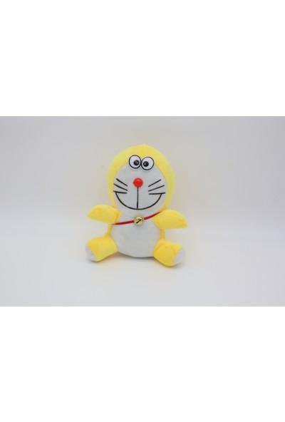 Mrc Sarı Beyaz Sevimli Pelüş Oyuncak 20 cm