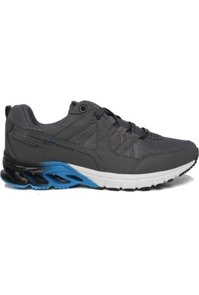 Wickers Füme Mavi Erkek Spor Ayakkabı