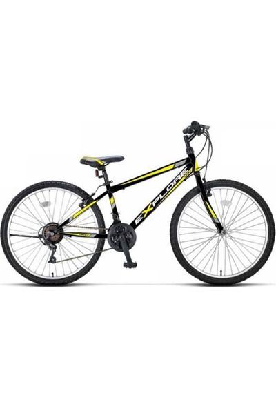 Ümit 2633 26 Explorer M-Mtb-V-21 Erkek Ümit Bisiklet (Siyah-Sarı)