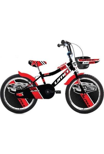 Ümit 2047-1 20 Alpına Bmx Erkek Bisiklet (Siyah-Kırmızı)