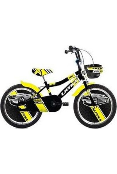 Ümit 2047-1 20 Alpına Bmx Erkek Bisiklet (Siyah-Sarı)