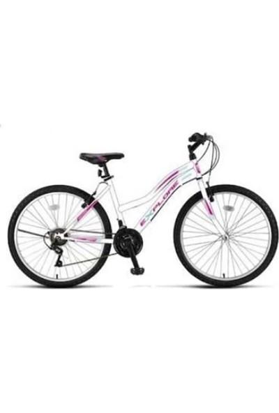 Ümit 2434 24 Explorer Bayan Mtb V Fren 21 V. Srn Ümit Bisiklet (Pembe-Beyaz)