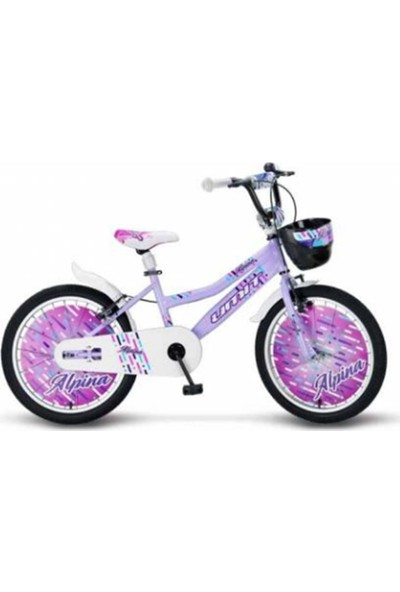 Ümit 2047-2 20 Alpına Bmx Kız Bisiklet (Lila)