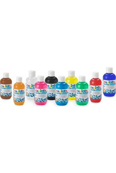 Carioca Yıkanabilir Guaj Boya 10 Renk 250 ml