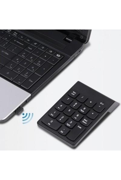 Verta Kablosuz Numpad Numerik Keypad
