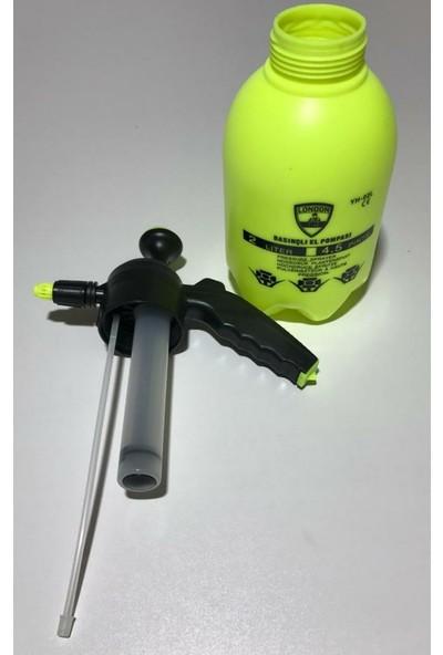 London 2 lt Kalın Piston Ilaç Dezenfekte Pompası