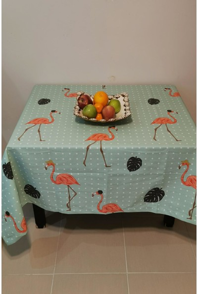 Çapa Home Duck Masa Örtüsü 160*160 Flamingo