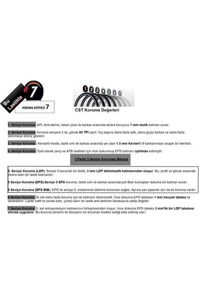 Cst C1920 Platinum Protector 700X38C REF60EPS (Zırhlı) Dış Lastik