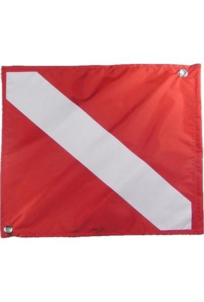 Kraken Bayrak Dalış, Kırmızı 39X46 cm