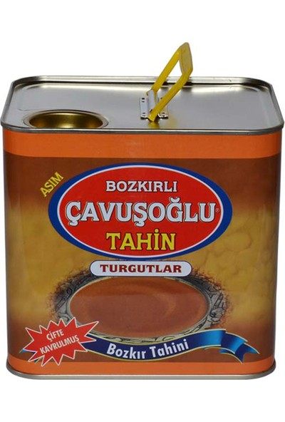 Çavuşoğlu Odun Ateşinde Kepeksiz Tahin Teneke 1,7 kg