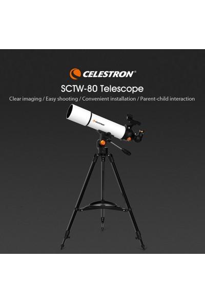 Celestron Teleskop Sctw-80 Dahili Teodolit (Yurt Dışından)