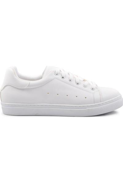 Park Fancy 7duz Beyaz Kadın Spor Ayakkabı