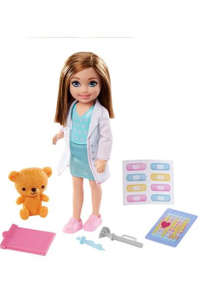 Barbie Chelsea Meslekleri Öğreniyor Bebek Serisi GTN86-GTN88