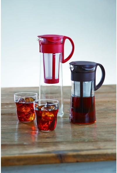 Hario Mizudashi (Cold Brew) Coffee Pot - Filtreli Soğuk Kahve Demleme Sürahisi ( Kırmızı )