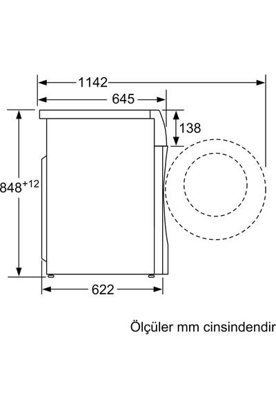 Siemens IQ500 WD14U560TR 10 kg Yıkama / 6 kg Kurutma 1400 Devir Çamaşır Makinesi
