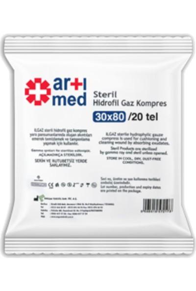 Artımed Steril Hidrofil Gaz Kompres 30X80 cm