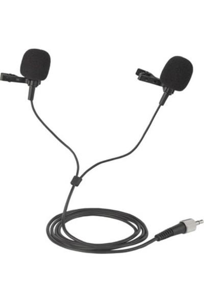 Gold Audio Pro L-42 Çift Yaka Kablolu Yaka Mikrafonu