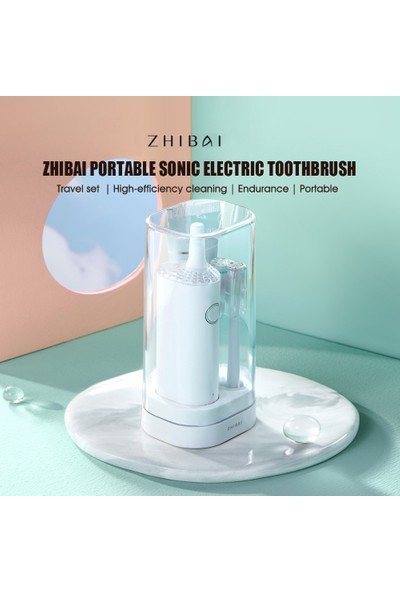 Zhibai Elektrikli Diş Fırçası Sonic 2 (Yurt Dışından)