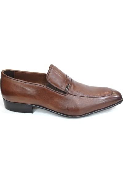 Oskar 445 Oskar Kösele Erkek Ayakkabı-Kahverengi