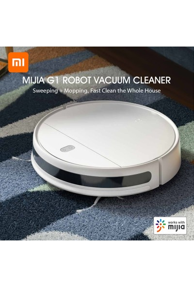 Xiaomi Mijia G1 Robot Süpürge 2200 Pa Emme Ev Süpürgesi (Yurt Dışından)