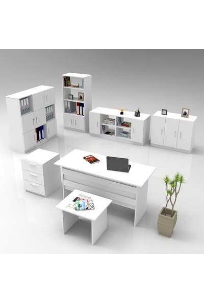 Robin Home Verona Abcdefg Ofis Büro Masa Takımı