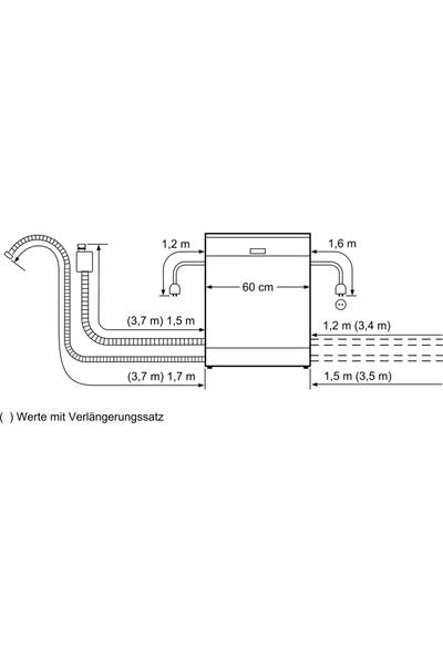 Siemens iQ500 SN257I01MT A++ 7 Programlı Bulaşık Makinesi