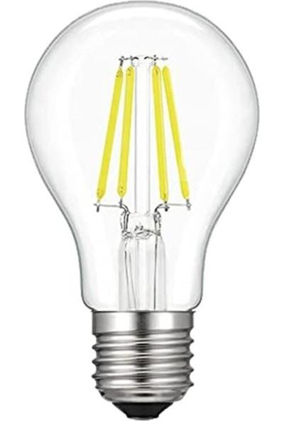 Heka LED Ampul 6W 6500K E27 ( Beyaz ) ( A60 )