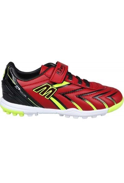 M.p 201-1107 Çocuk Halısaha Ayakkabısı - Kırmızı - 34