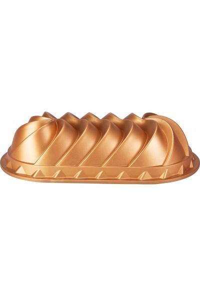 Emsan Lavin Döküm Kek Kalıbı Gold