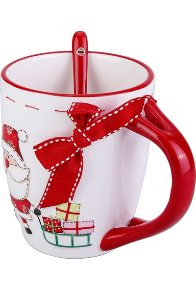 Karaca Happy New Year Kaşıklı Mug