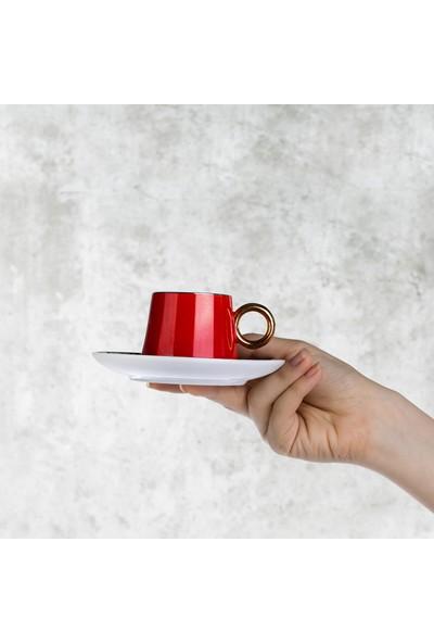 Emsan Sefa 6lı Kahve Fincan Takımı