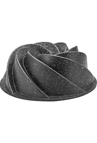 Karaca Tornado Black New Döküm Granit Kek Kalıbı