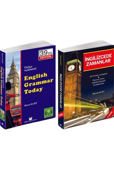 English Grammar Today Türkçe Açıklamalı Ingilizce Gramer + Ingilizcede Zamanlar - Murat Kurt
