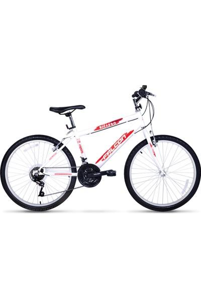 Falcon Ricardo Spor 24 Jant Bisiklet Beyaz Kırmızı
