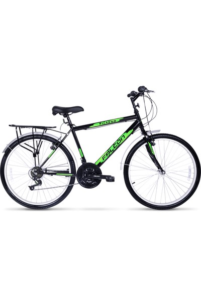 Falcon Ricardo Lüx 24 Jant Bisiklet Siyah Yeşil