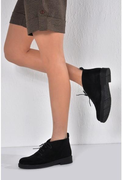 Vizon Ayakkabı Kadın Siyah Bot VZN20-041K
