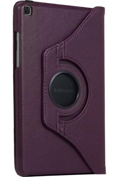 "Caseup Samsung Galaxy Tab S6 Lite 10.4"" P610 Kılıf, Caseup 360 Rotating Stand Mor"