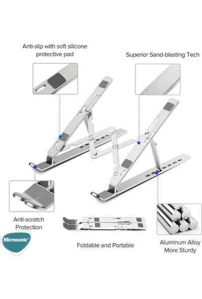 Microsonic Adjustable Laptop Standı