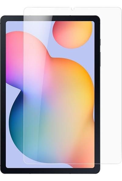 "FUJİMAX Samsung Galaxy Tab S6 Lite 2020 (10.4"") P610 P615 P617 9h Temperli Ekran Koruyucu Şeffaf"