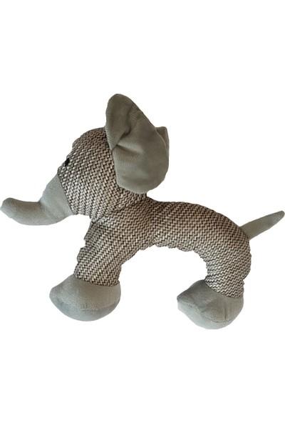 Mixpet Fil Figürlü Peluş Sesli Köpek Oyuncağı 25 cm